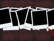Polaroides Imagen de archivo libre de regalías