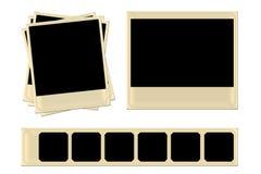 Polaroides Imágenes de archivo libres de regalías