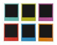 Polaroides del color Imagen de archivo libre de regalías