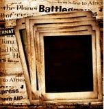 Polaroides viejas Imagen de archivo libre de regalías