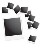 Polaroidfeld Stockfotografie