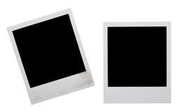Polaroidfelder Stockbilder