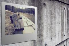 Polaroidfilm stockfotografie