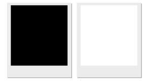 Polaroidfilme Stockfotos
