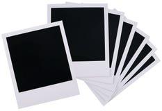 Polaroidfilmleerzeichen Stockbild