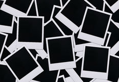 Polaroidfilmleerzeichen Lizenzfreie Stockfotografie