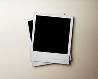Polaroidfoto stockfotografie