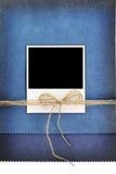 Polaroidfotoet inramar Fotografering för Bildbyråer