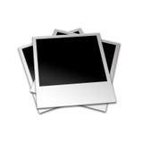 Polaroidfotos Stockfotos
