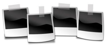 Polaroidfotos Lizenzfreie Stockfotografie