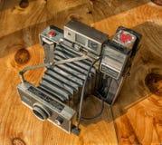Polaroidlandkamera lizenzfreie stockbilder