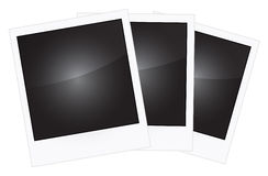 Polaroidramar Arkivbild