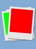 polaroids πλαισίων διανυσματική απεικόνιση