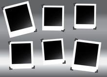 polaroids Στοκ Εικόνες