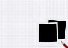 polaroids Royaltyfri Fotografi