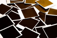 polaroids Arkivfoto