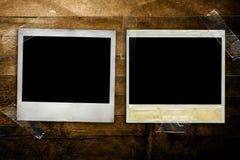 Polaroids de Grunge Fotos de Stock