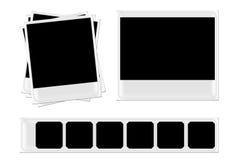 Polaroids e pellicole immagine stock libera da diritti
