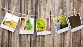 Polaroids Stock Photo