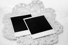 Polaroids prontos para fotos Fotos de Stock Royalty Free