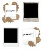 Polaroidset Lizenzfreie Stockfotos
