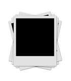 Polaroidstapel Lizenzfreie Stockfotografie