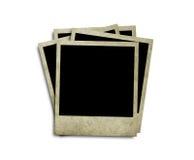 polaroidtappning royaltyfri fotografi