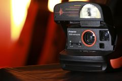 Polaroidu 600 ekstremum zdjęcia stock