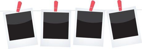 polaroidy Fotografia Stock