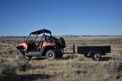 Polarstern RZR in Thermopolis, Wyoming stockbilder