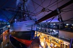 Polart skepp Fram royaltyfria foton