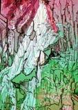 Polaryzujący światło robi koloru migotowi Obraz Royalty Free