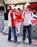 Polaski Tagesparade New York Lizenzfreie Stockfotos