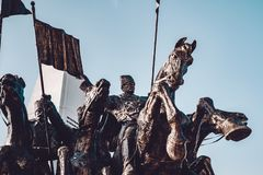 Polatli Duatepe Monument for the Memory of the Turkish War of In. Dependence stock photography