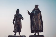 Polatli Duatepe Monument for the Memory of the Turkish War of In. Dependence royalty free stock photos