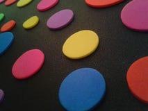 Polca Dots Close acima Fotografia de Stock