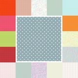 Polca Dots Set EPS 10 Imagen de archivo libre de regalías