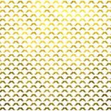 Polca metálica Dot Pattern dos bigodes da folha do falso do bigode do ouro imagens de stock royalty free