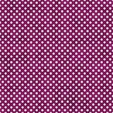 Polca pequena cor-de-rosa e branca escura Dots Pattern Repeat Background Fotografia de Stock Royalty Free