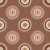 Polca retro Dot Seamless Vetora Pattern do estilo do alvo ilustração stock