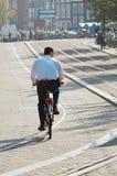 Polícia holandesa Imagens de Stock