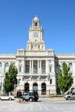 Pold ståndsmässig domstolsbyggnad Iowa Arkivbilder