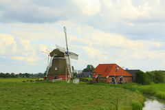 Polder mill & x22;Jonge Held& x22; Stock Images