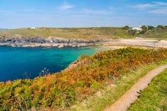 Poldhu Cove Cornwall England Royalty Free Stock Image