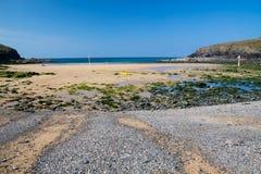 Poldhu Cove Cornwall England Stock Photo