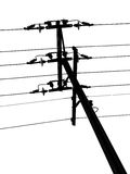 Pole. Telegraph Pole Royalty Free Stock Images