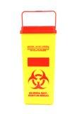 pole bio - medyczne odpady zdjęcie stock