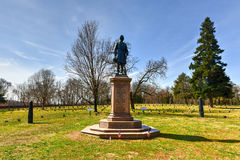 Pole bitwy - Fredericksburg, Virginia Obraz Stock