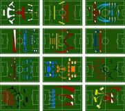 pole bitwy futbolowi Obrazy Royalty Free