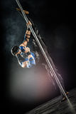 On the pole bodyart Sub-Zero Stock Image